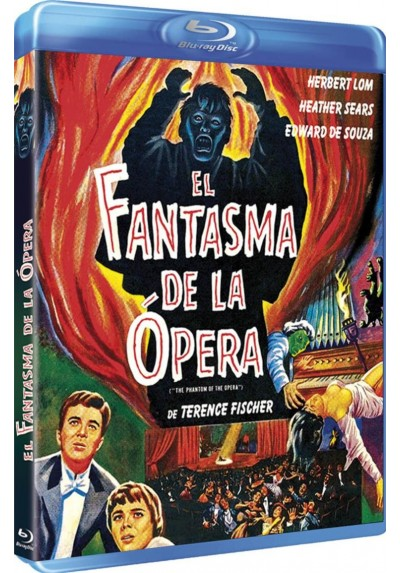 El Fantasma De La Opera (1962) (Blu-Ray) (BD-R) (The Phantom Of The Opera)