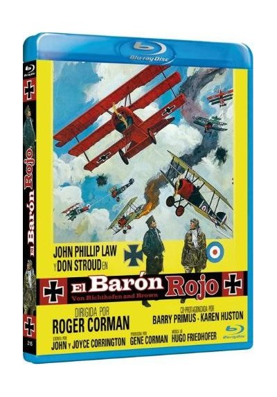 El Baron Rojo (Blu-Ray) (Bd-R) (Von Richthofen And Brown)