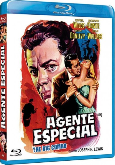 Agente Especial (Blu-Ray) (Bd-R) (The Big Combo)