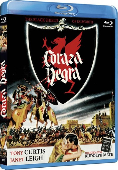 Coraza Negra (Blu-Ray) (Bd-R) (The Black Shield Of Falworth)