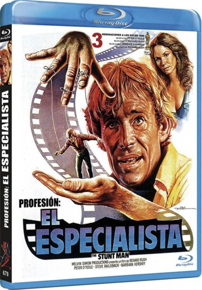 Profesion : El Especialista (Blu-Ray) (Bd-R) (The Stunt Man)