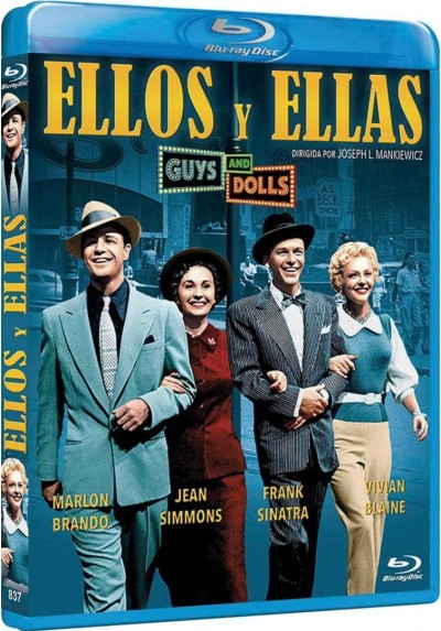 Ellos Y Ellas (Blu-Ray) (Guys And Dolls)