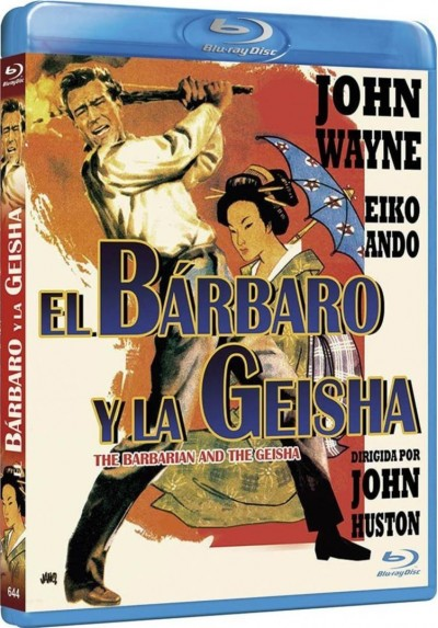 El Barbaro Y La Geisha (Blu-Ray) (Bd-R) (The Barbarian And The Geisha)