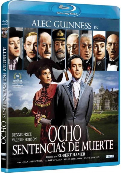 Ocho Sentencias De Muerte (Blu-Ray) (Kind Hearts And Coronets)