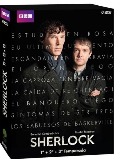 Pack Sherlock - 1ª A 3ª Temporada