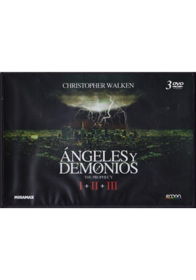 Angeles Y Demonios Trilogia