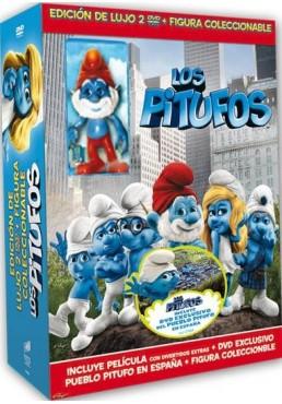 Pack Los Pitufos (2 Discos + Figura)