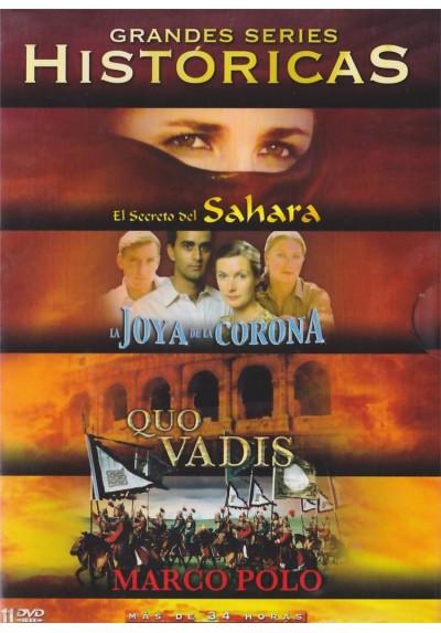 Grandes Series Historicas: El Secreto del Sahara / La Joya de la Corona / Quo Vadis / Marco Polo