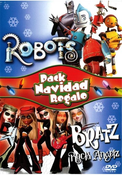 Pack Robots + Bratz Rock Angels