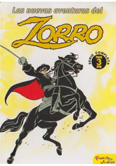 Las Nuevas Aventuras Del Zorro - Serie Completa