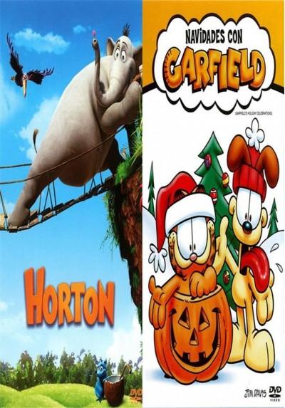 Pack Horton + Navidades con Garfield + Libro para Colorear