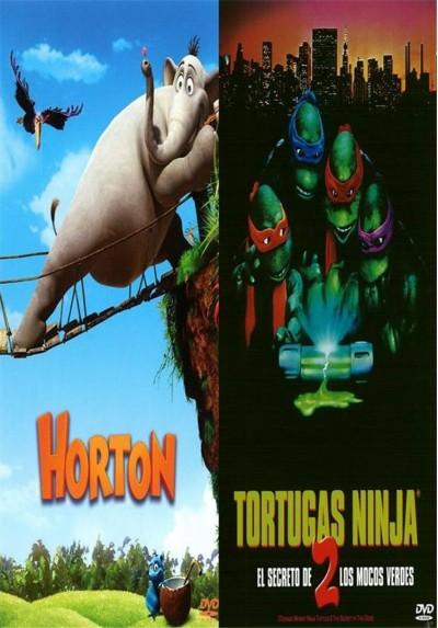 Pack Horton + Tortugas Ninja 2 + Libro para Colorear