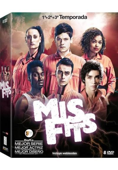 Pack Misfits - Temporadas 1 - 3