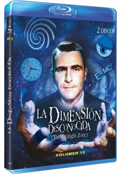 La Dimension Desconocida - Vol. 12 (Blu-Ray) (The Twilight Zone)