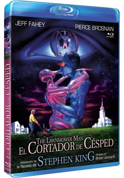 El Cortador De Cesped (Blu-Ray) (The Lawnmower Man)