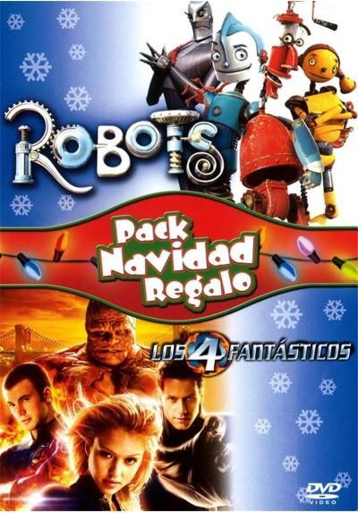 Pack Robots + Los 4 Fantásticos