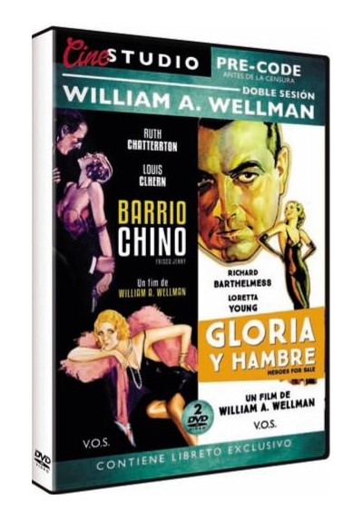 Pack Doble Sesion William A. Wellman