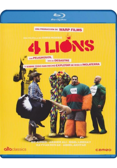 4 Lions (Blu-Ray) (Four Lions)
