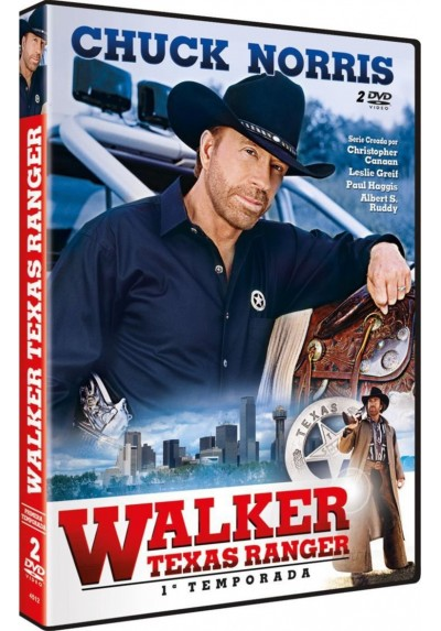 Pack Walker Texas Ranger - 1ª Temporada