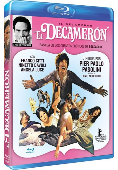 El Decameron (Blu-Ray) (Il Decameron)