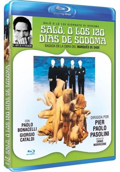 Salo, O Los 120 Dias De Sodoma (Blu-Ray) (Salo O Le 120 Giornate Di Sodoma)