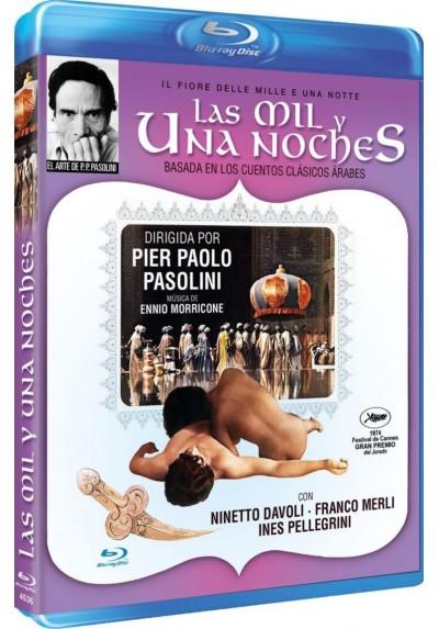 Las Mil Y Una Noches (1974) (Blu-Ray) (Il Fiore Delle Mille E Una Notte)