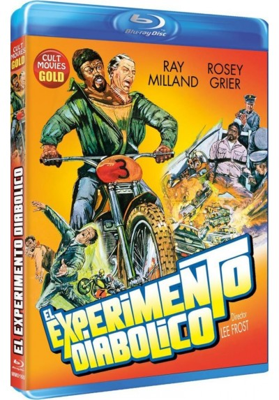 El Experimento Diabolico (Blu-Ray) (The Thing With Two Heads)