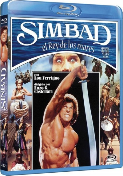 Simbad : El Rey De Los Mares (Blu-Ray) (Sinbad Of The Seven Seas)