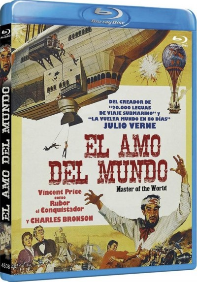El Amo Del Mundo (Blu-Ray) (Master Of The World)