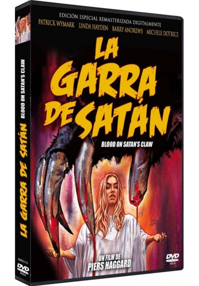 La Garra De Satan (Dvd-R) The Blood On Satan'S Claw