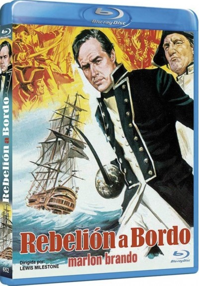 Rebelion A Bordo (Blu-Ray) (Mutiny On The Bounty)