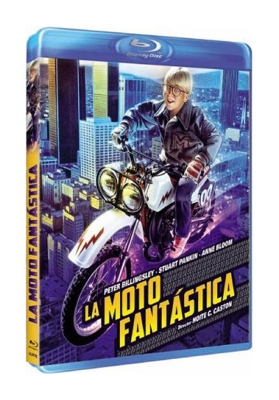 La Moto Fantastica (Blu-Ray) (The Dirt Bike Kid)