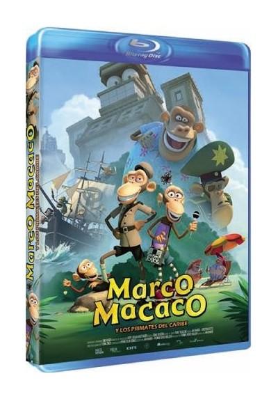 Marco Macaco Y Los Primates Del Caribe (Blu-Ray)