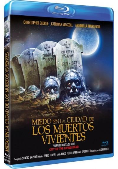 Miedo En La Ciudad De Los Muertos Vivientes (Blu-Ray) Paura Nella Città Dei Morti Viventi