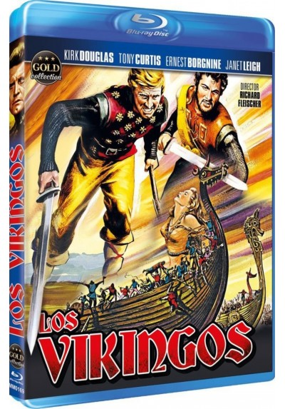 Los Vikingos (Blu-Ray) (The Vikings)