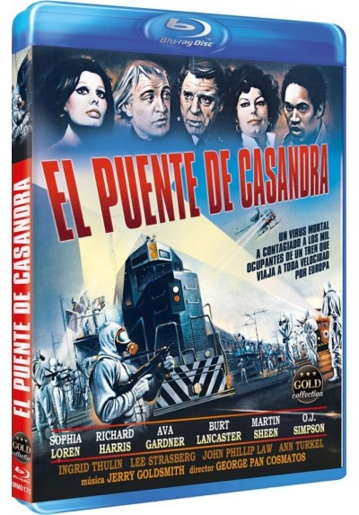 El Puente De Casandra (Blu-Ray) (The Cassandra Crossing)