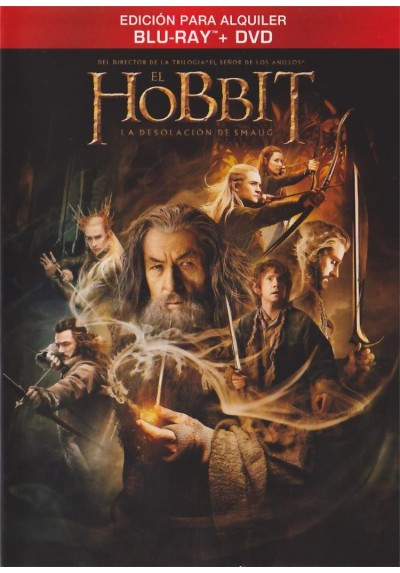 El Hobbit : La Desolacion De Smaug (Blu-Ray + Dvd) The Hobbit: The Desolation Of Smaug