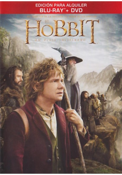 El Hobbit : Un Viaje Inesperado (Blu-Ray + Dvd) The Hobbit: An Unexpected Journey