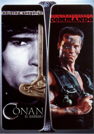 Pack Conan el Bárbaro + Commando