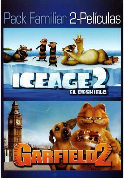 Pack Ice Age 2 + Garfield 2