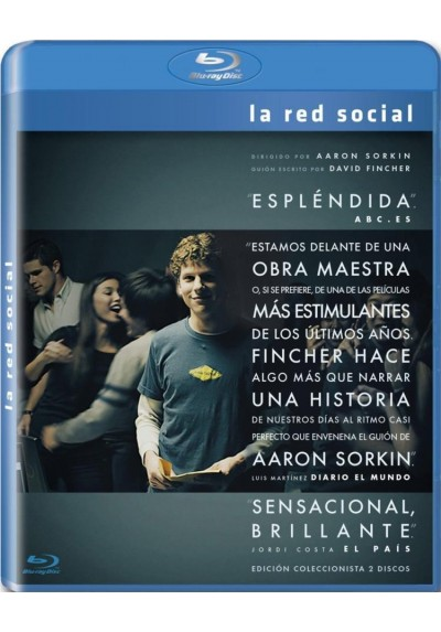 La Red Social (Blu-Ray) (The Social Network)