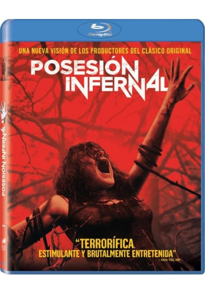 Posesion Infernal (2013) (Blu-Ray) (Evil Dead)