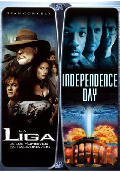 Pack La Liga de los Hombres Extraordinarios + Independence Day
