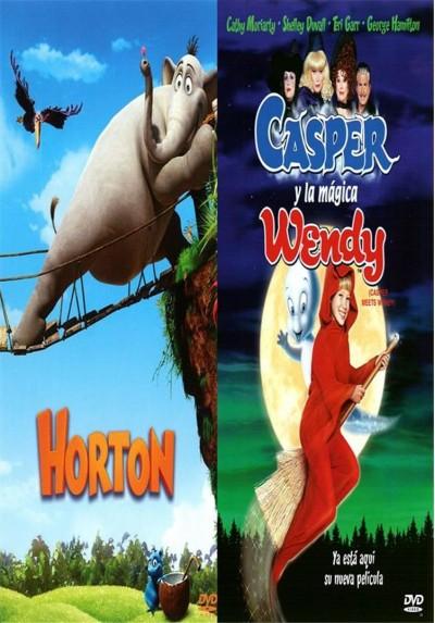 Pack Horton + Casper y la Mágica Wendy + Libro para Colorear
