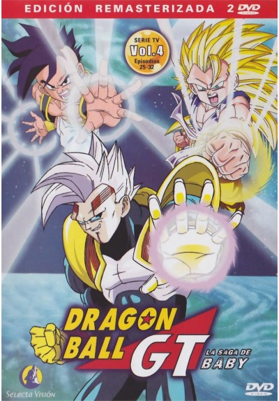 Dragon Ball Gt - La Saga De Baby : Vol. 4 (Episodios 25 - 32)