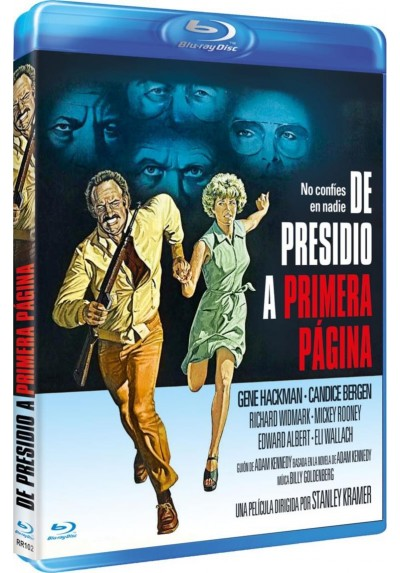 De Presidio A Primera Pagina (Blu-Ray) (Bd-R) (The Domino Principle)