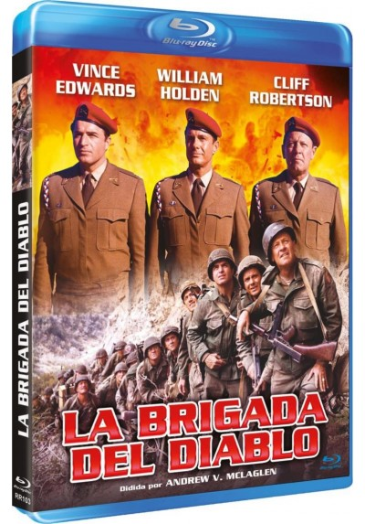 La Brigada Del Diablo (Blu-Ray) (The Devil´s Bridge)