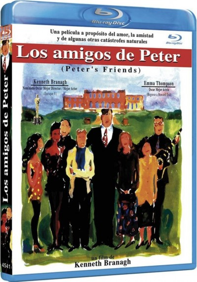 Los Amigos De Peter (Blu-Ray) (Peter'S Friends)