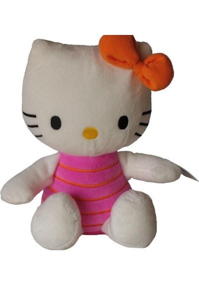 Hello Kitty Rosa - 21 cms.