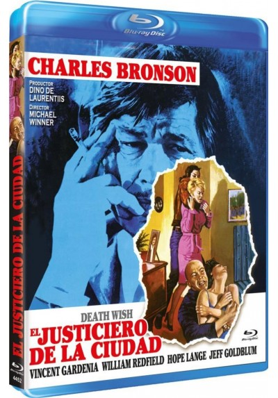 El Justiciero De La Ciudad (Blu-Ray) (Bdr) (Death Wish)